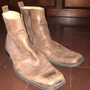 Kenneth Cole men's leather boots